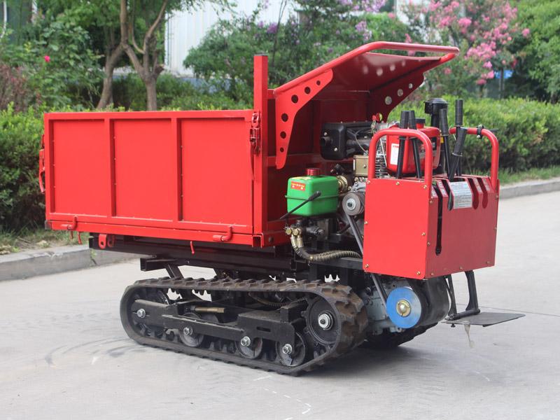 D212-1T手扶式履带运输车