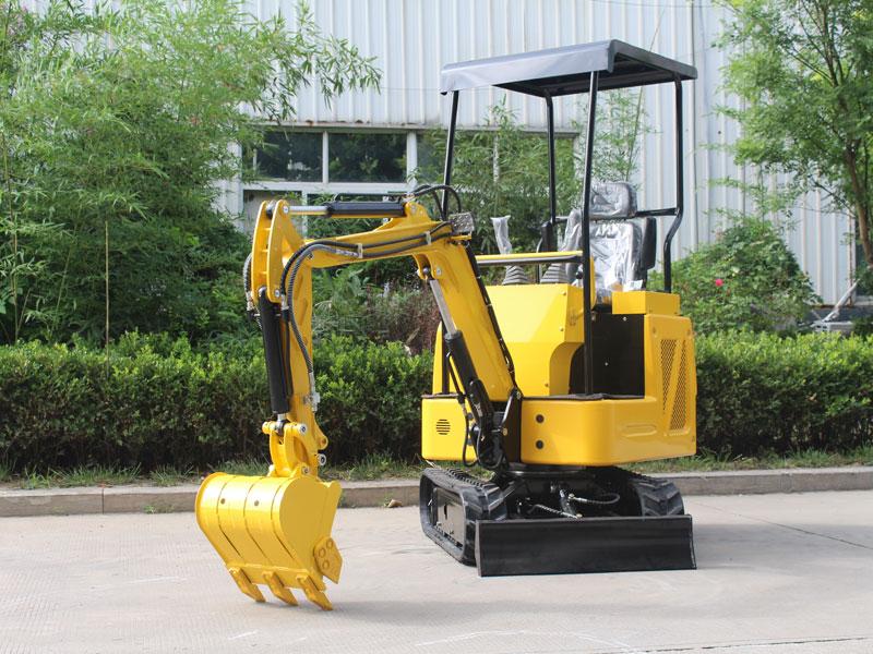 R325小型履带式挖掘机出口版