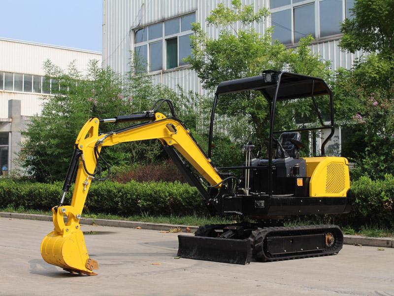 新款R330履带式小型挖掘机