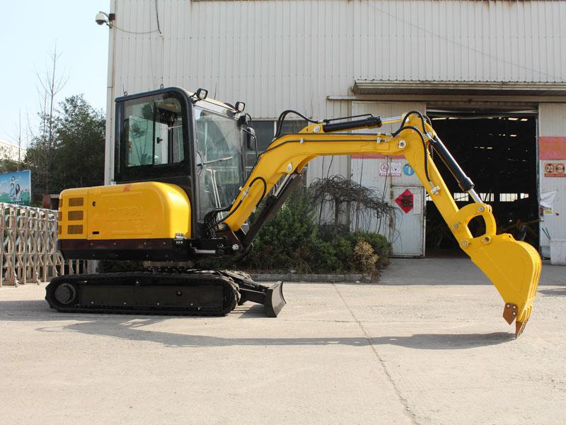 R350小型履带式挖掘机