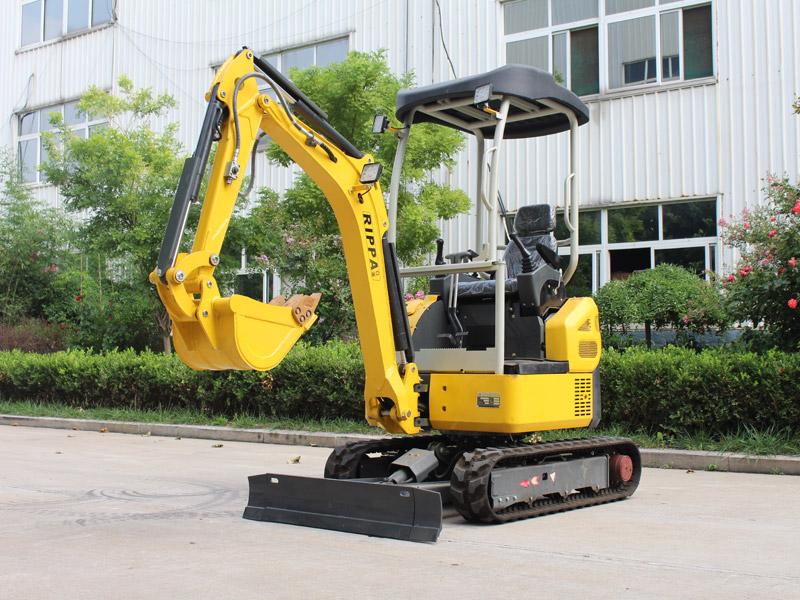 无尾R330履带式小型挖掘机