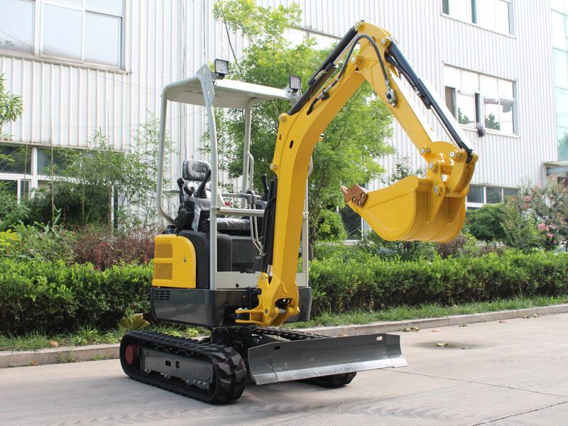 无尾R335履带式小型挖掘机